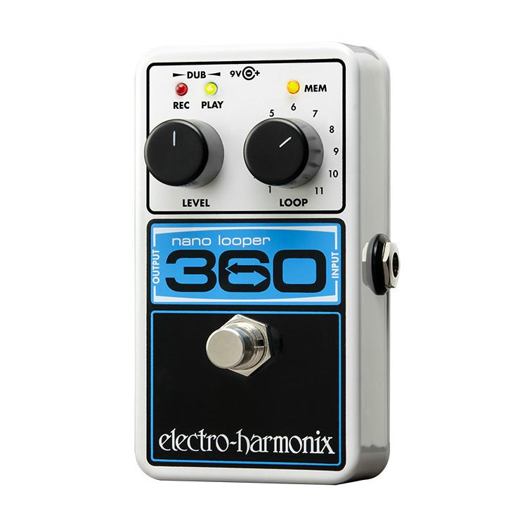 electro harmonix nano 360 electric guitar looper pedal the guitar hangar. Black Bedroom Furniture Sets. Home Design Ideas