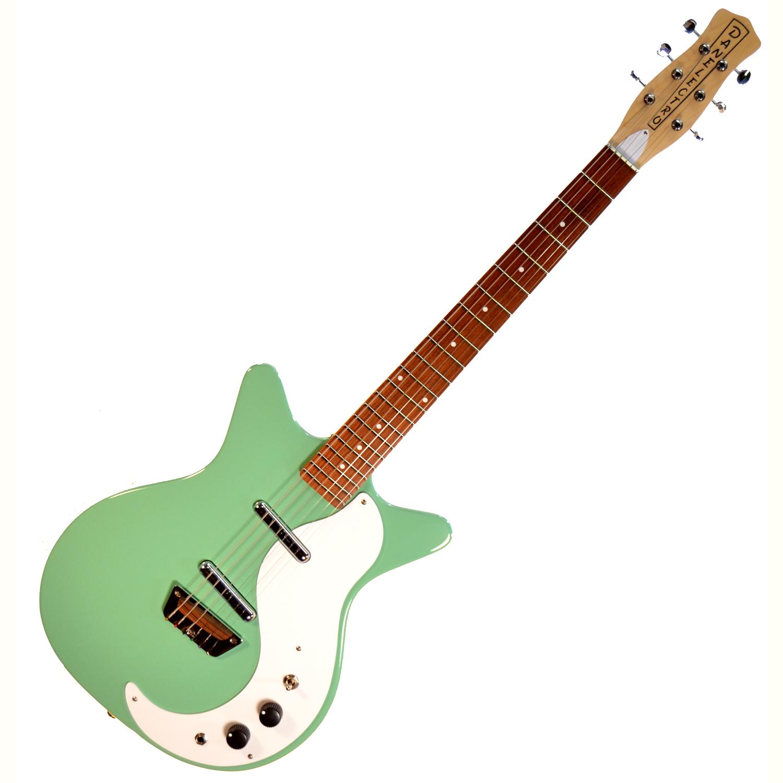 danelectro stock 39 59 vintage aqua 6 string electric guitar the guitar hangar. Black Bedroom Furniture Sets. Home Design Ideas
