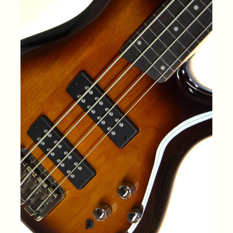 ibanez soundgear sr370ef fretless 4 string electric bass brown burst the guitar hangar. Black Bedroom Furniture Sets. Home Design Ideas