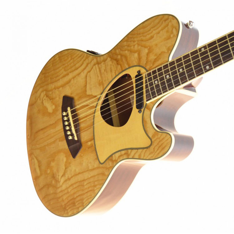 Ibanez Talman Tcm50 Acoustic Electric Natural Finish Guitar The